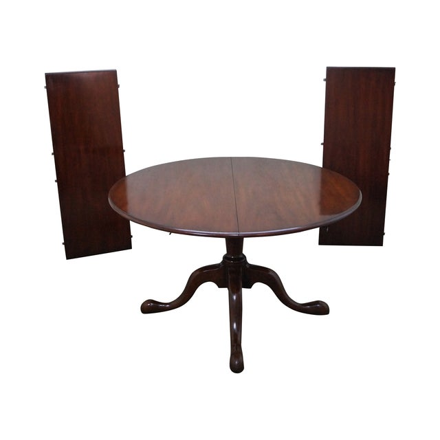 Kittinger Solid Mahogany Extension Dining Table - Image 1 of 10