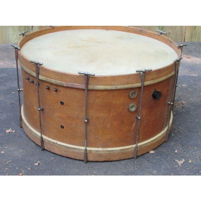 Antique Drum Coffee Table Chairish