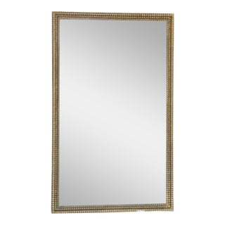 19th Century Rectangular Gilt Mirror
