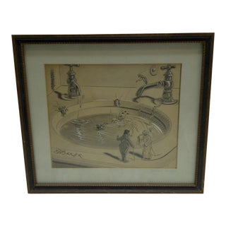 2009 Insect Swimming Pool by E. Baker Pucks Magazine Print
