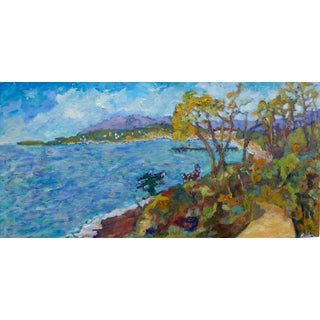 Contemporary Santa Barbara Summer Oil Painting