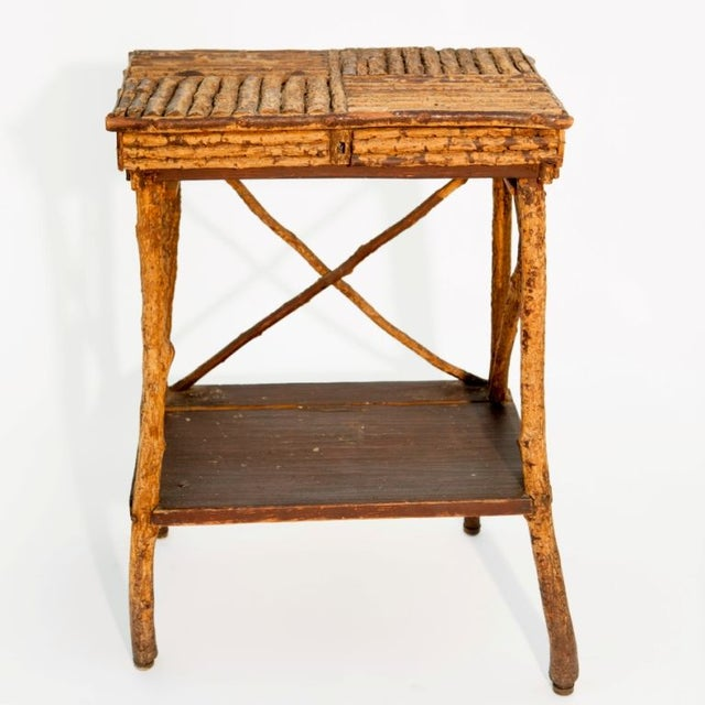 1920s Twig Side Table - Image 2 of 2