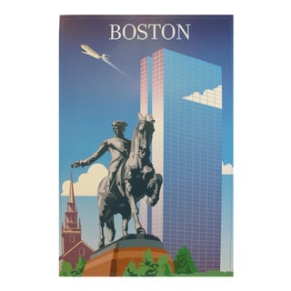 2005 Contemporary Travel Poster, Boston