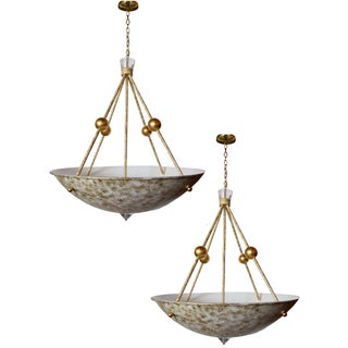 Decorateur Chandeliers - A Pair