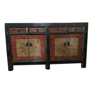 Antique Asian Painted Buffet/Console