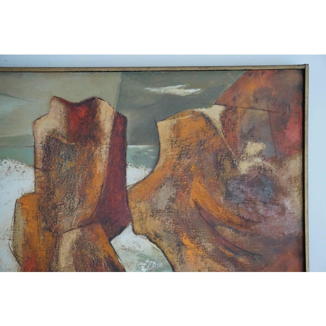 Image of 1960s Oil Painting by Darwin Musselman