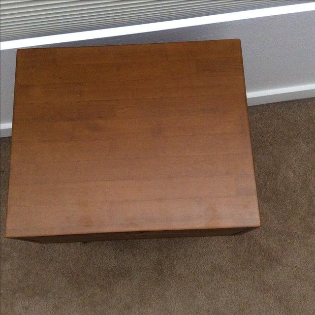 Mid-Century Modern 2-Drawer Nightstand - Image 5 of 6