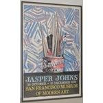 Image of Jasper Johns Exhibition Poster C.1978