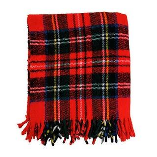 Vintage Plaid Picnic Blanket