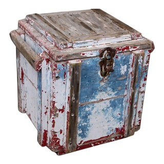 Primitive Painted Dynamite Box