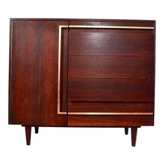 Bertha Schaefer for Singer & Sons Mid-Century Dresser Cabinet
