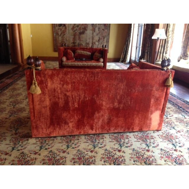 Custom Knole Sofas - a Pair - Image 3 of 4