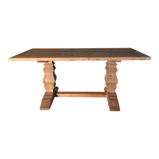 Rustic Pine Farm Table