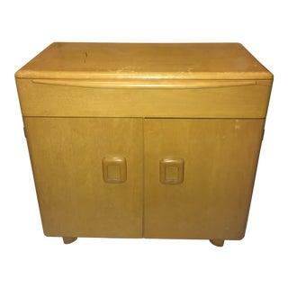 Mid-Century Heywood-Wakefield Blonde Cabinet