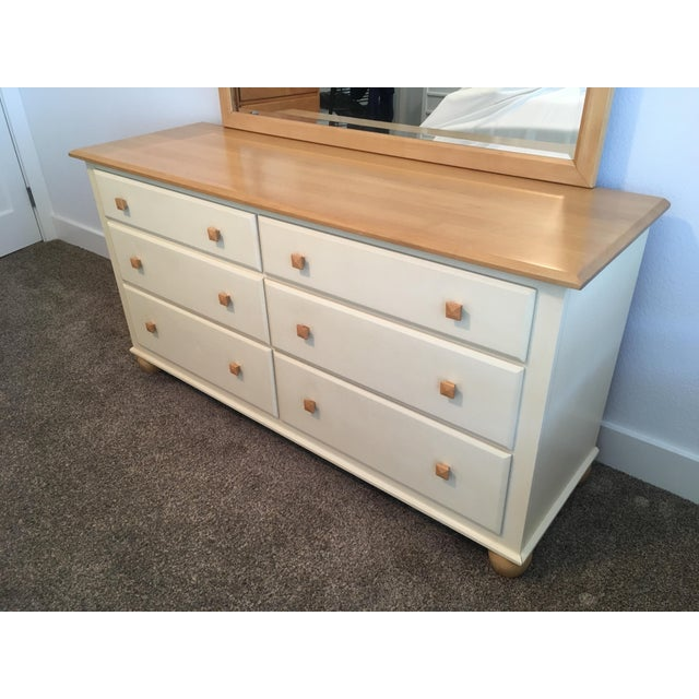 Ethan Allen American Dimensions Collection Maple Dresser - Image 3 of 9