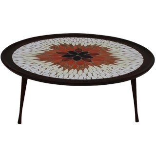 1960s Italian Mosaic Coffee Table