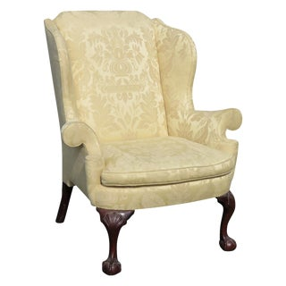 Kindel Winterthal Ball & Claw Wing Chair