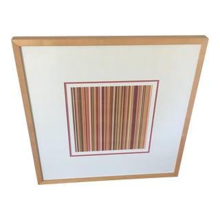 Striped Wall Print
