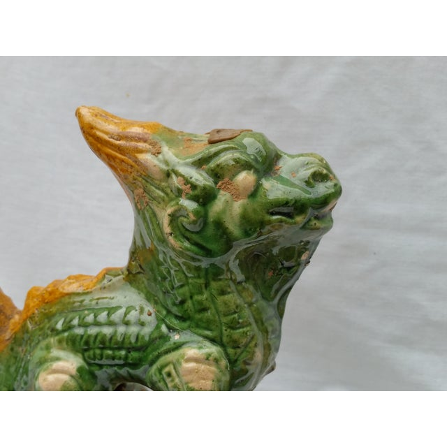Chinese Terracotta Roof Finials - Set of 3 - Image 6 of 7