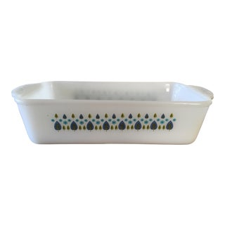 Vintage Milk Glass Loaf Pan