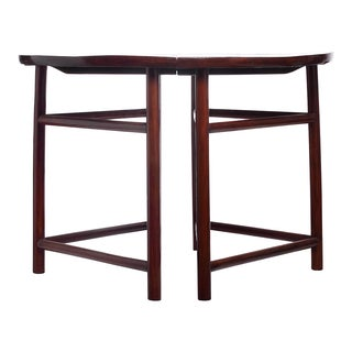 Demi Lune Tables - A Pair