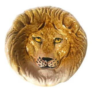 Italian Ceramic Lion Dish
