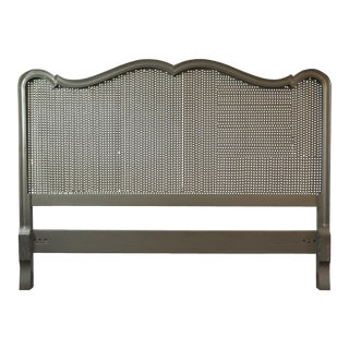 Vintage French Provincial Caned Headboard