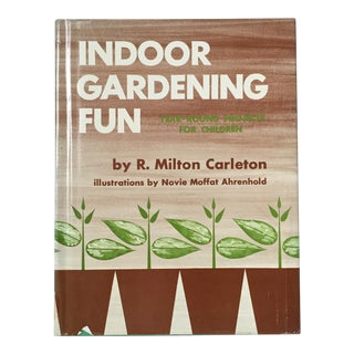 "Circa 1970 ""Indoor Gardening Fun"" Book"