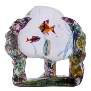 Murano Art Glass Aquarium