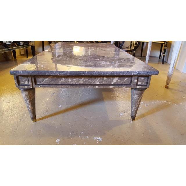 Buy Online Marble Top Coffee Table: Faux Marble-Top Coffee Table