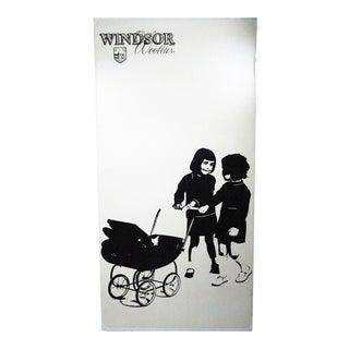 60's Windsor Woolies Department Store Display Ad