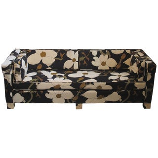 Custom Parsons Style Mid-Century Sofa