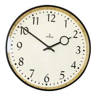 Siemens Industrial Factory or Workshop Wall Clock