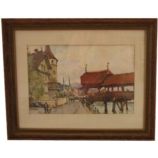 Dockside Framed Artwork