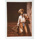 "Image of John Duillo, ""The Cowboy,"" Lithograph"