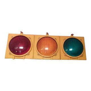 Working Vintage Traffic Light