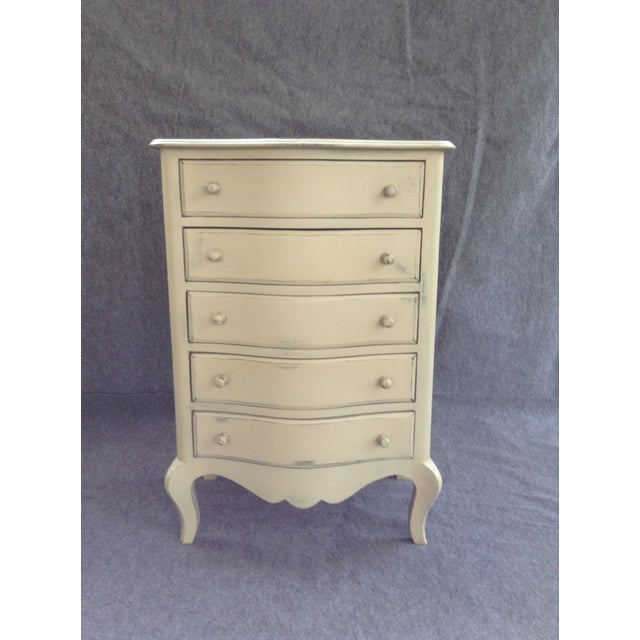 Distressed Shabby Chic 5-Drawer Chest - Image 2 of 7