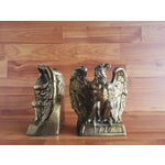 Image of 1972 American Bicentenntial Brass Eagle Bookends