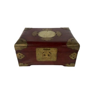 Ornamental Asian Jewelry Box