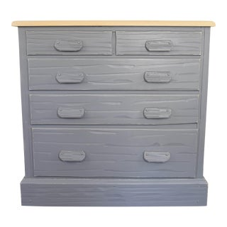 Farmhouse Gray & Off White Dresser