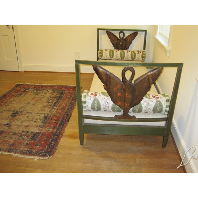 Image of Early 20th-Century Swan Daybed