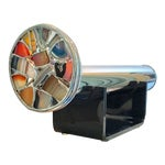 Image of Modern Art Glass Chrome Agate Kaleidoscope