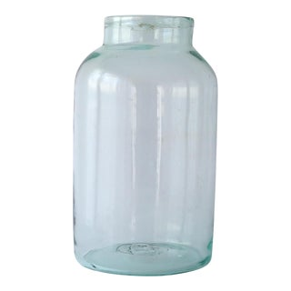 Vintage Hand Blown Jar
