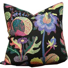 Josef Frank Exotic Butterfly Pillow Cushion, Floral