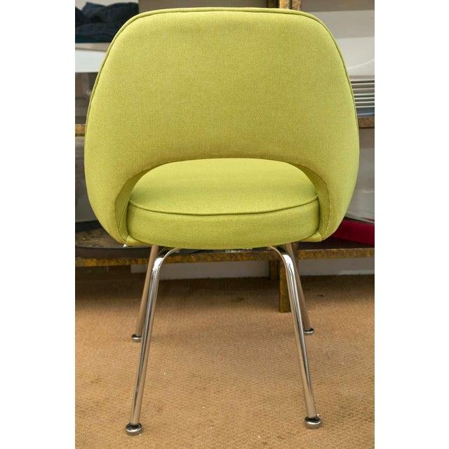 Saarinen Executive Side Chair, Honey Dew Green - Image 7 of 8