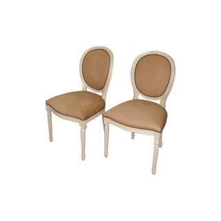Louis XVI Side Chairs - Set of 2
