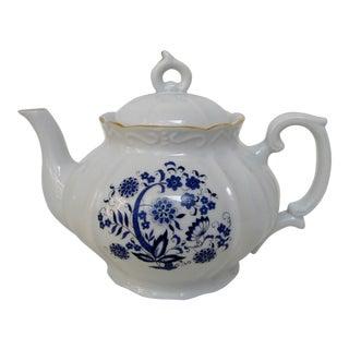 Meissen Style Porcelain Teapot