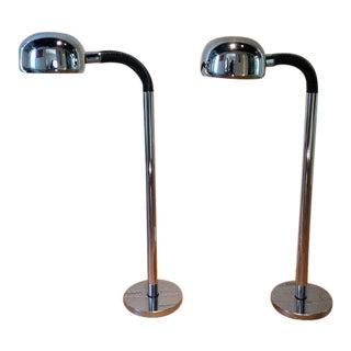Periscopio Floor Lamps by Danilo & Corrado Aroldi - A Pair