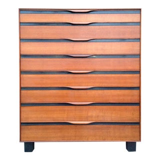 John Kapel for Glenn of California Mid-Century Modern Highboy Dresser