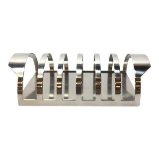 Arne Jacobsen for Stelton Cylinda Stainless Steel Toast Rack